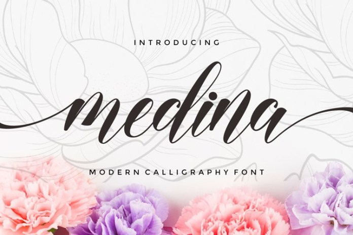 Medina Calligraphy Font