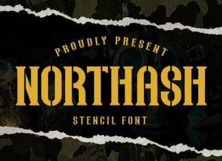 Northash Display Font