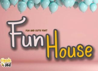 Fun House Display Font