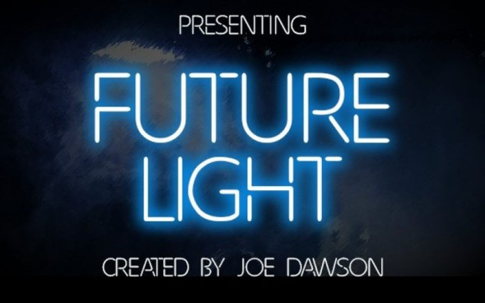 Future Light Display Font