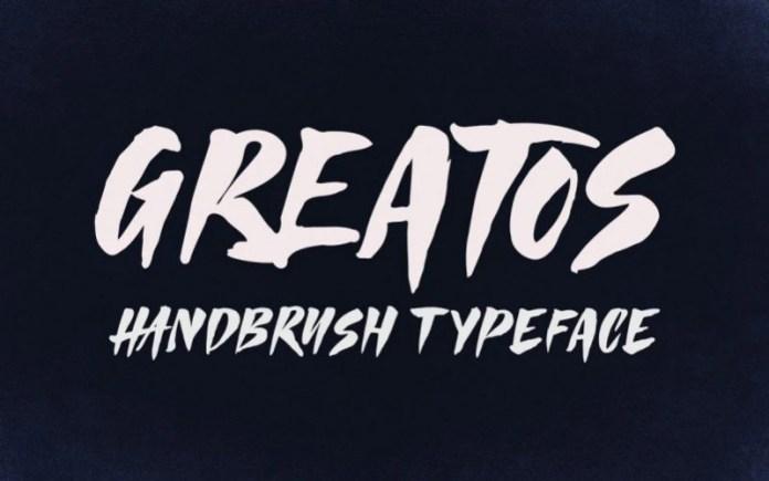 Greatos Display Font