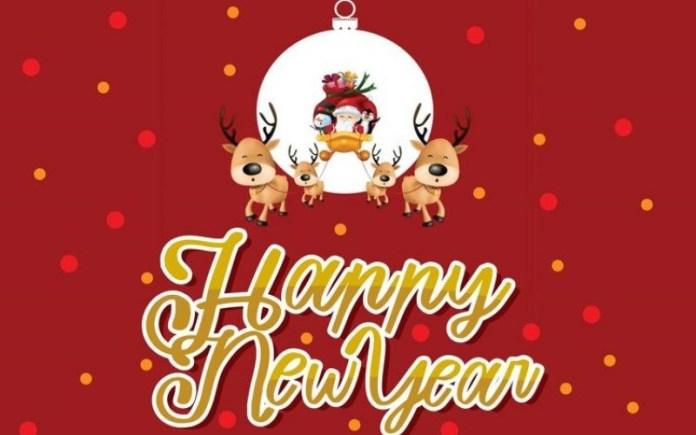 Happy New Year Script Font