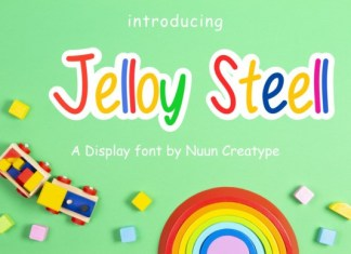 Jelloy Steell Display Font