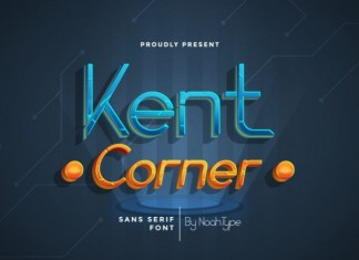 Kent Corner Display Font