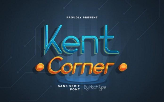 Kent Corner Display Font