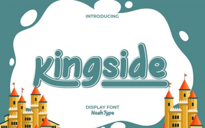 Kingside Display Font