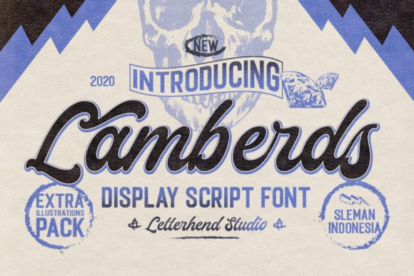 Lamberds Script Font