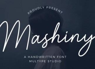 Mashiny Handwritten Font