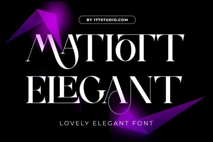 Matiott Elegant Serif Font