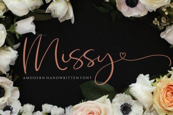 Missy Calligraphy Font