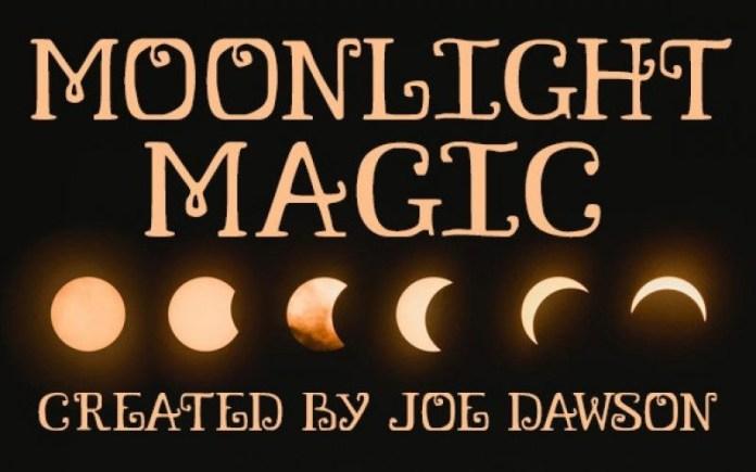 Moonlight Magic Display Font
