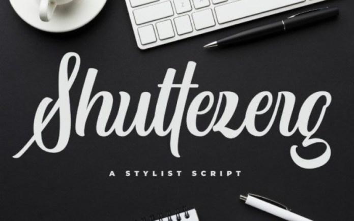 Shuttezerg Script Font