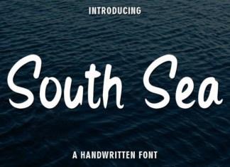 South Sea Brush Font