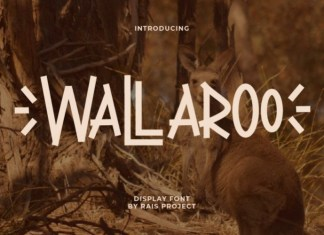 Wallaroo Display Font