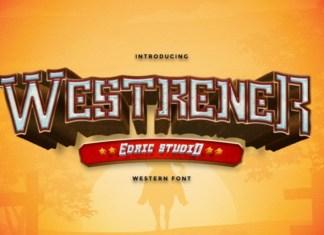 Westrener Display Font