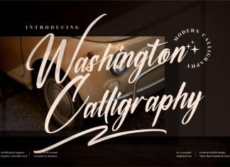 Washington Calligraphy Font