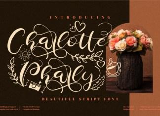 Charlotte Pharly Script Font