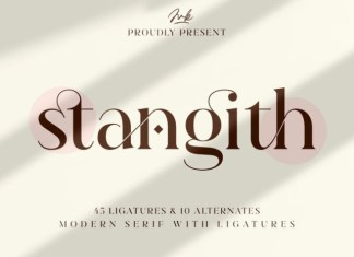 Stangith Sans Serif Font