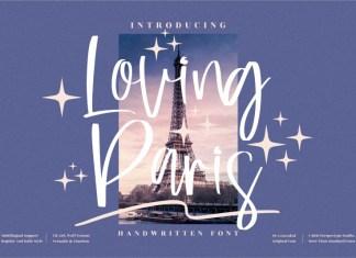 Loving Paris Script Font