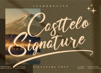 Casttelo Signature Script Font