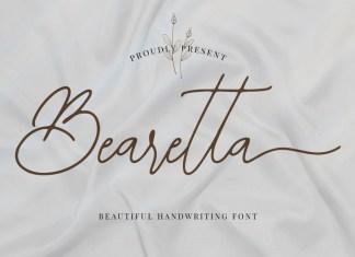 Bearetta Handwritten Font