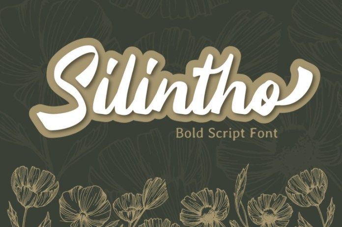 Silintho Script Font