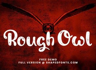 Rough Owl Display Font