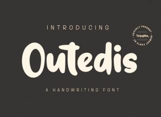Outedis Display Font