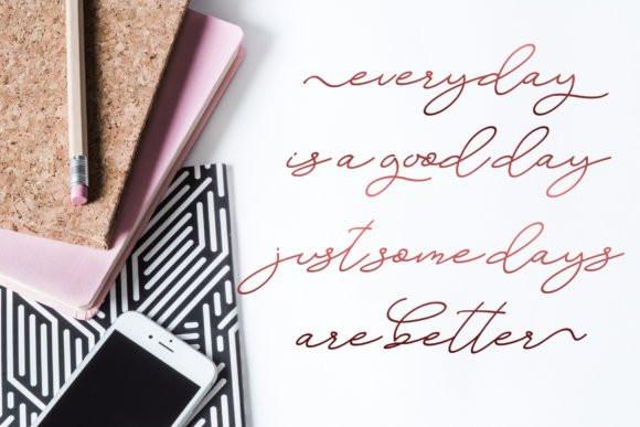 Angelista Handwritten Font