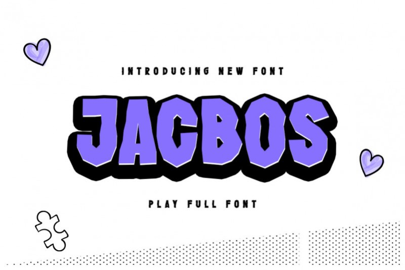Jacbos Display Font
