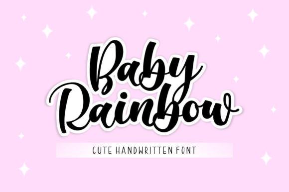 Baby Rainbow Script Font