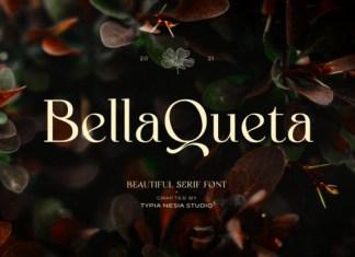 Bella Queta Serif Font