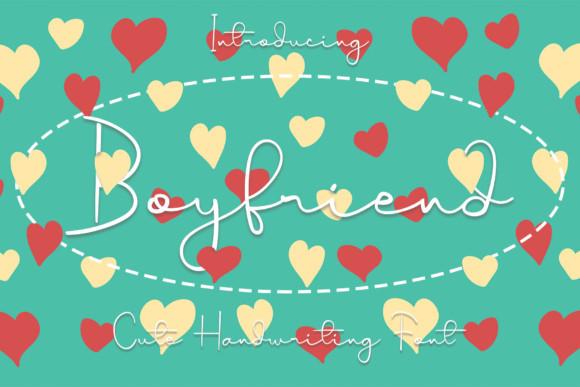 Boyfriend Handwritten Font