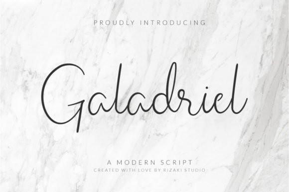 Galadriel Handwritten Font