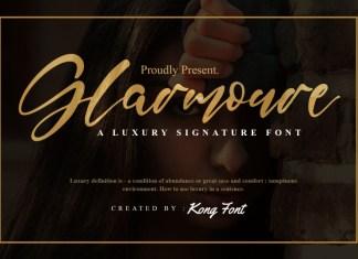 Glarmoure Script Font