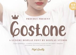 Gostone Display Font