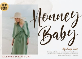 Honney Baby Script Font