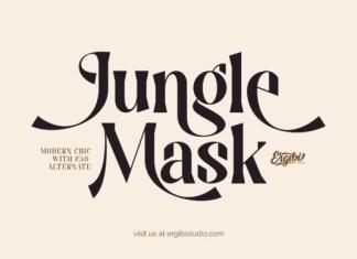 Jungle Mask Serif Font