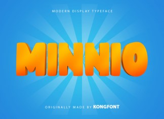 Minnio Display Font
