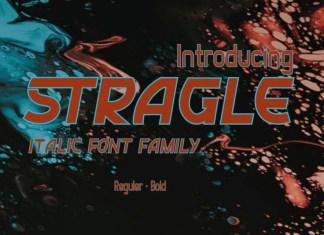 STRAGLE Display Font