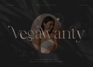 Vegawanty Serif Font