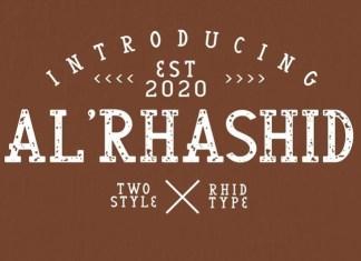 Al'Rhasid Display Font