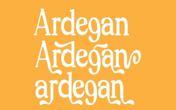 Ardegan Serif Font