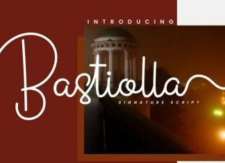 Bastiolla Handwritten Font