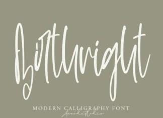 Birthright Script Font