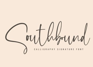 Southbound Handwritten Font