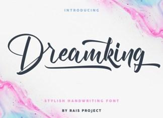 Dreamking Script Font
