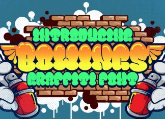 Bowings Display Font
