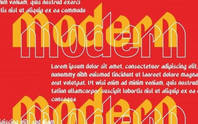 FURIOUS Display Font