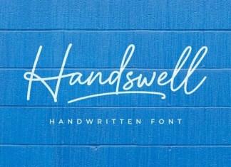 Handswell Handwritten Font